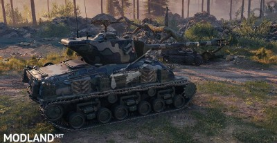 Avalon's M-51 Super Sherman 1.5.0.0-0 [1.5], 2 photo